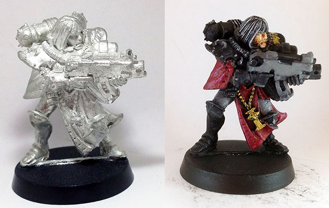 Paint a Gaming Miniature Quickly and Effciently