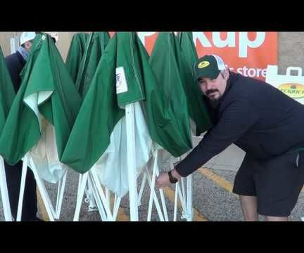 How to Set up and EZ-Up Pop Up Tent