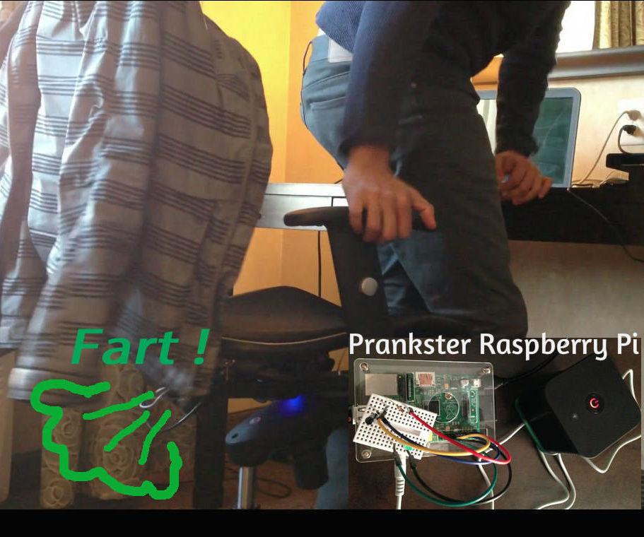 Prankster Pi - chair prank