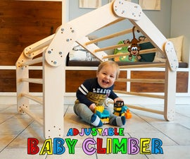 Adjustable Baby Climber - Pikler Triangle
