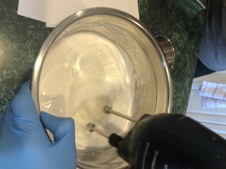Add the Sugar and Lemon Juice