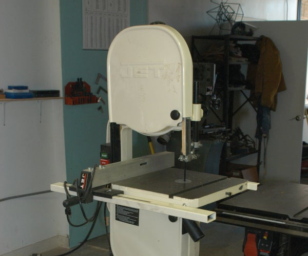 """Changing Blades on the 14"""" Bandsaw"""
