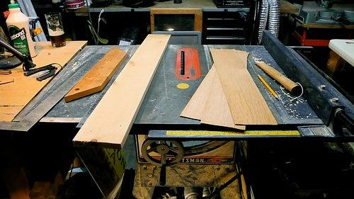 Case Construction 1: Choosing the Wood & Setup