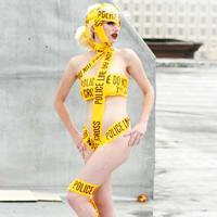 Caution Tape Costume