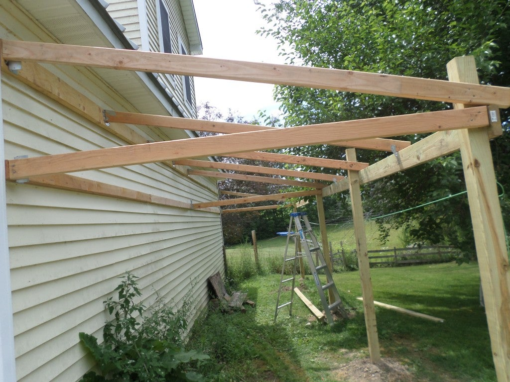 How To Build A Lean To Shed 8 Steps With Pictures Instructables