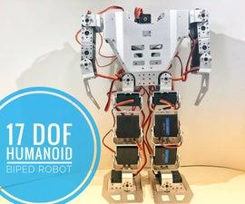 How-to: 17 DOF Humanoid Robot