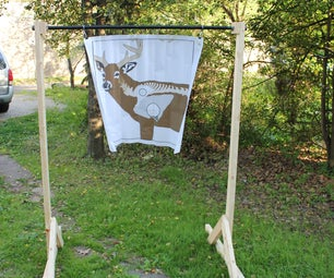 Collapsable Archery Target Stand