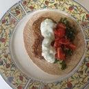 Falafel Dinner, Without Food Processor