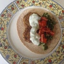 Falafel Dinner, Without Food Processor