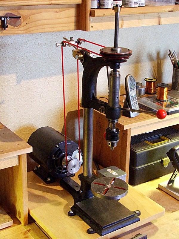 Renovating an Old Drill Press