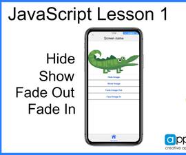 JavaScript and App Builder: Lesson 1