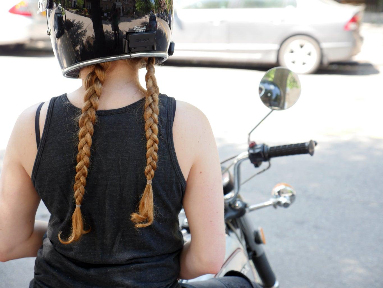 Helmet Compatible Hairstyles