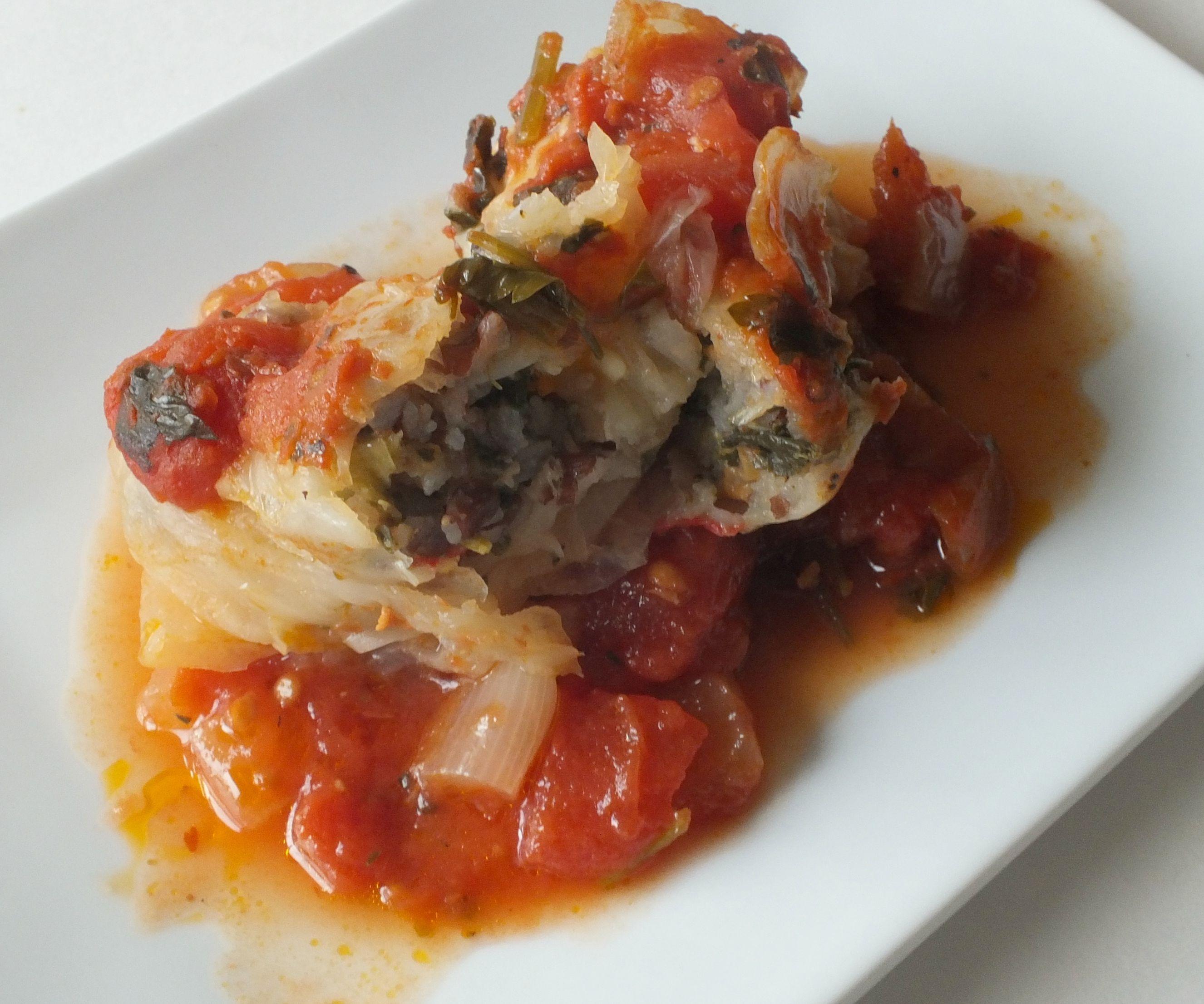 Italian Cabbage Rolls