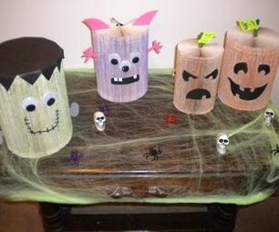 Paperback Book Halloween Creations