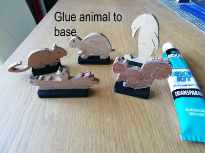 Make a Base for the Other Animals So They Do Not Fall