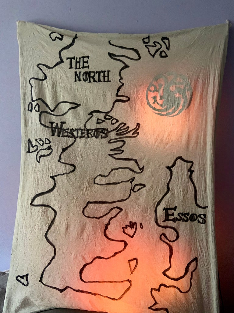 Game of Thrones Light Up Map