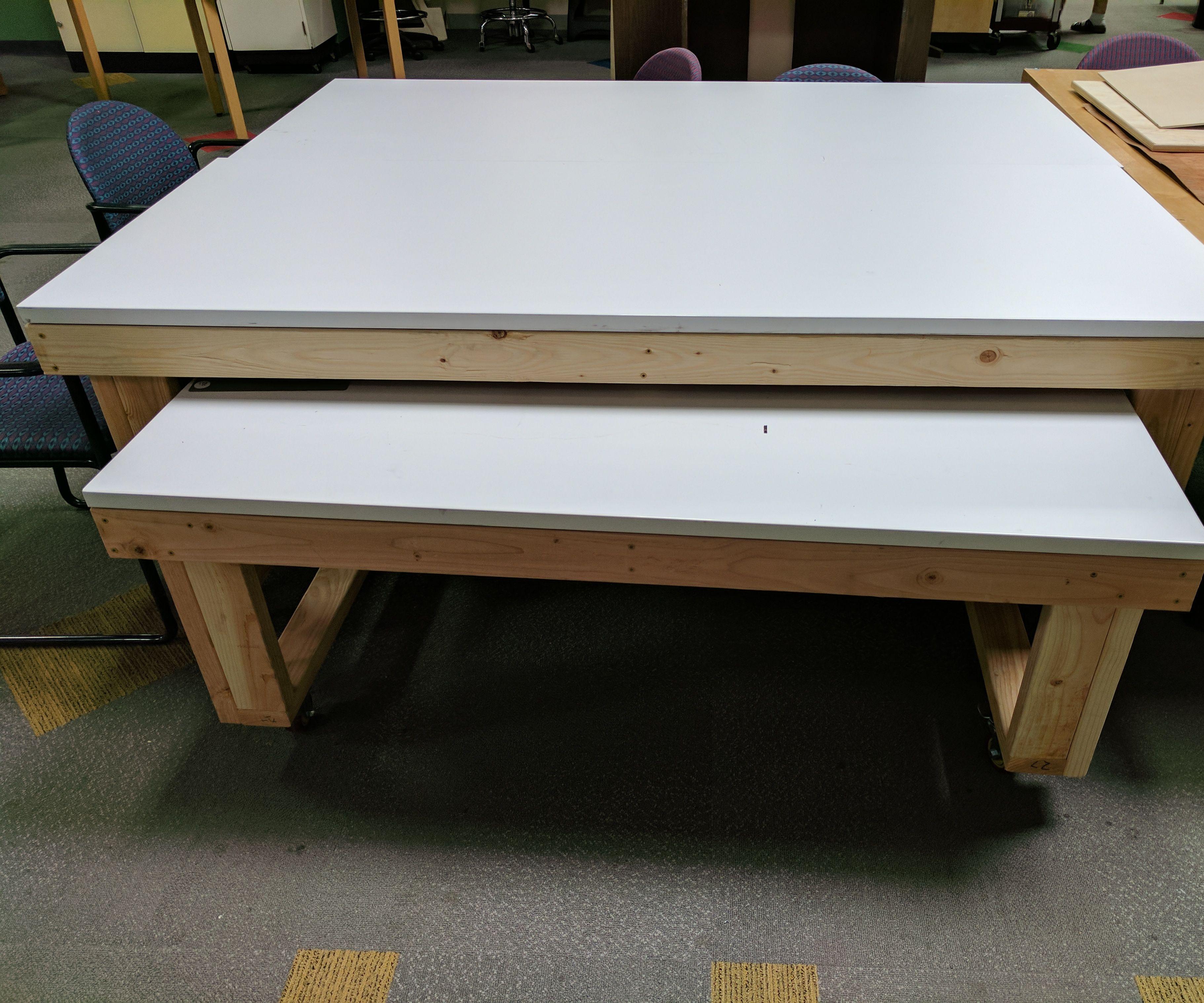Makerspace Worktables