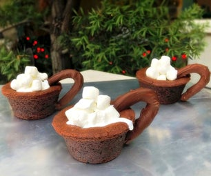 Useable Hot Cocoa Mug Cookies