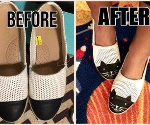 Cap Toe Shoes to Cat Shoes
