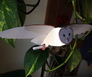 Paper Mobile: Flying Barn Owl