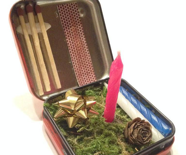 Pocket Christmas Candle