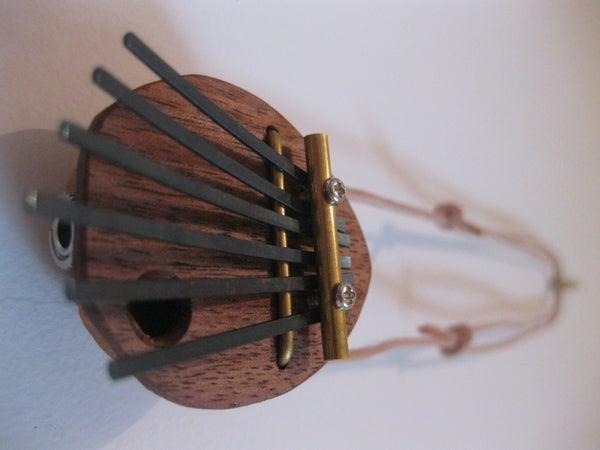 Walnut Kalimba Necklace (Semi Acoustic)