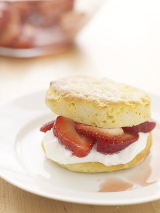 Shortcut Strawberry Shortcake