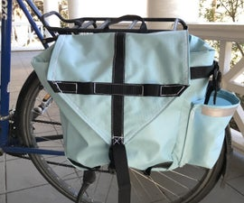 Touring Panniers With Home Sewing Machine