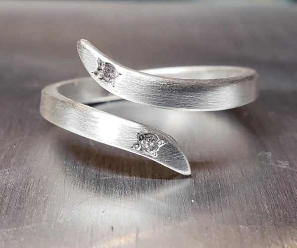Make a Simple Silver Bypass Ring