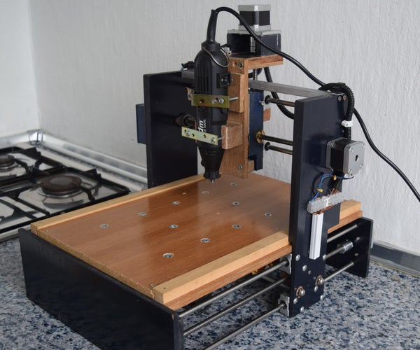 DIY CNC for Less of 160€ With Arduino