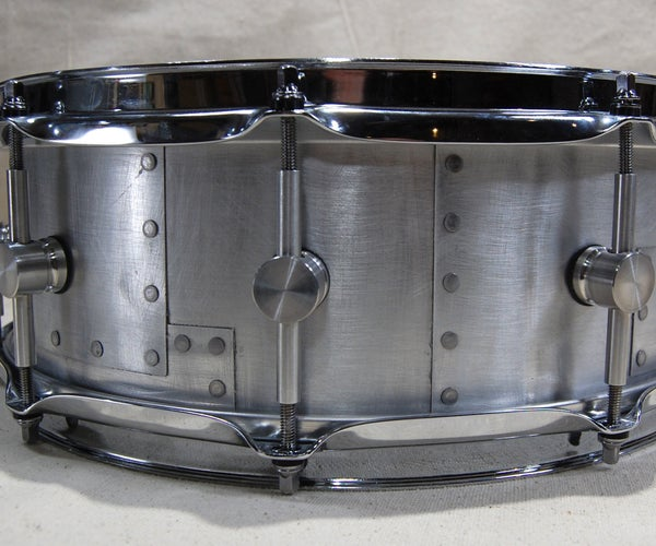 The Layered Sheet Metal Snare Drum