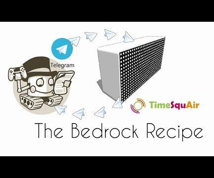 Telegram Bot and TimeSquAir: the Bedrock