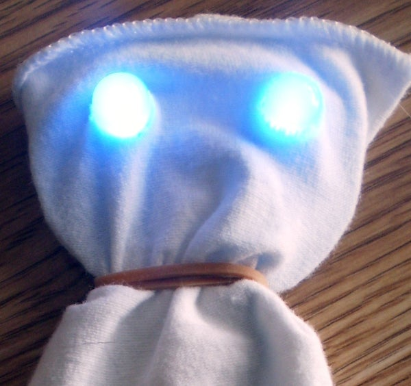 Make Your Own LED Creepy Creature for Less Than $1.00