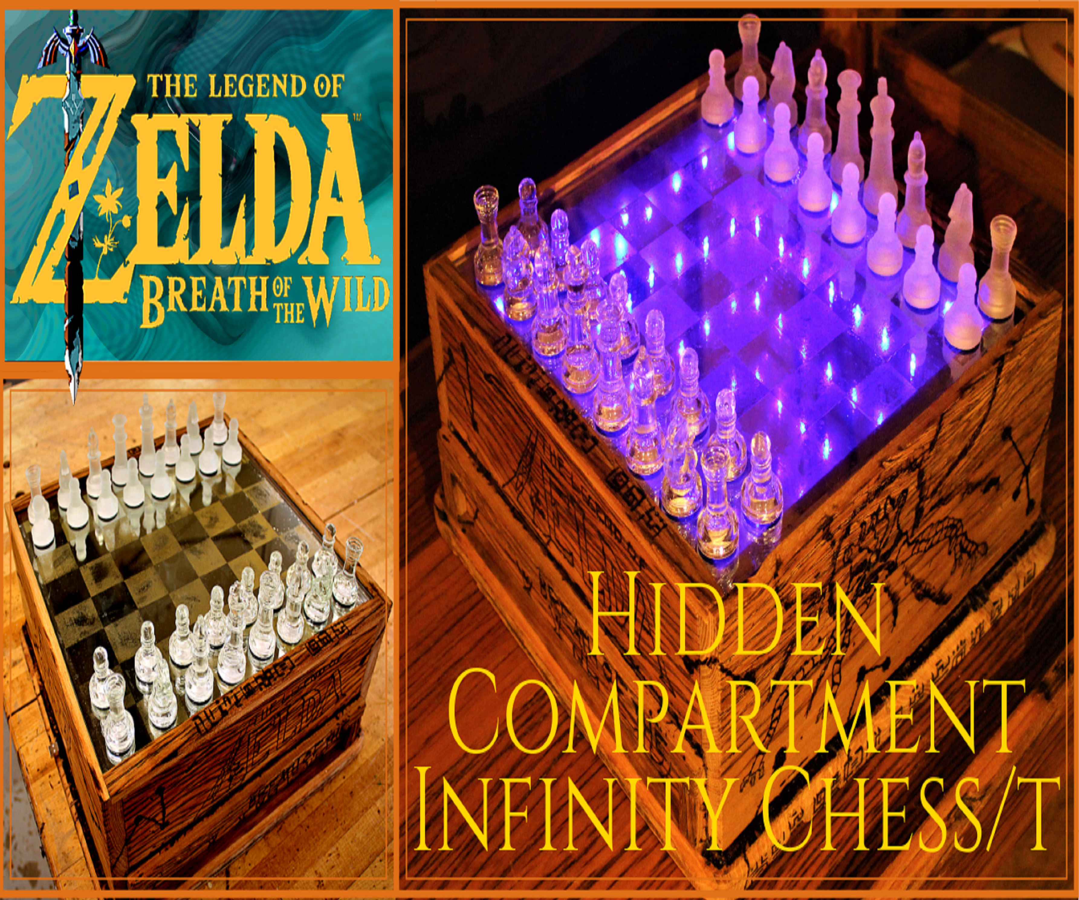Zelda (BOTW) Secret Infinity Chess Box