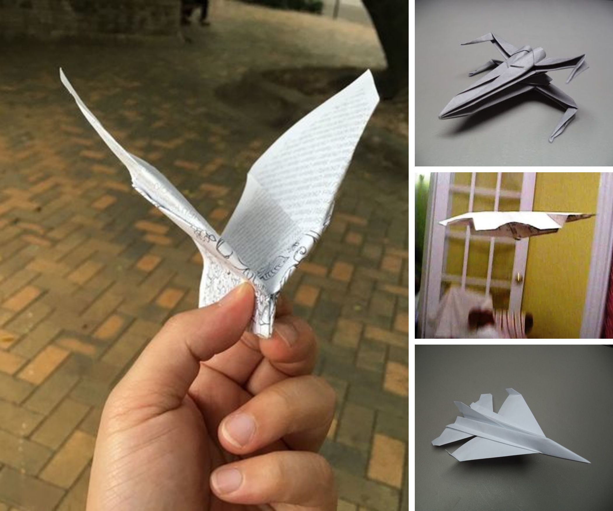 12 Impressive Paper Airplanes