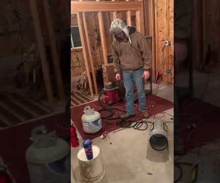 Assembling a Propane Heater