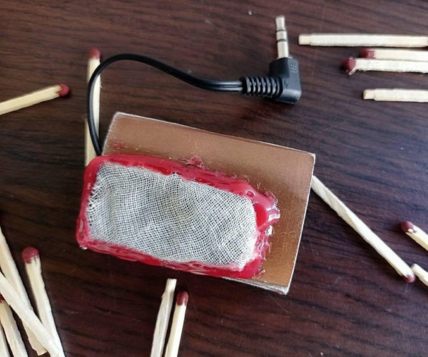 DIY Matchbox Μ-amp