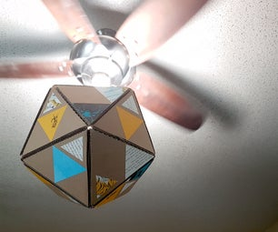 Modular Cardboard Lampshade