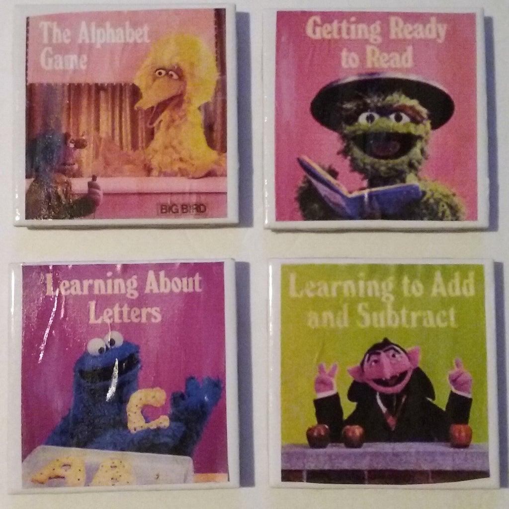 My Sesame Street Home Video Coasters
