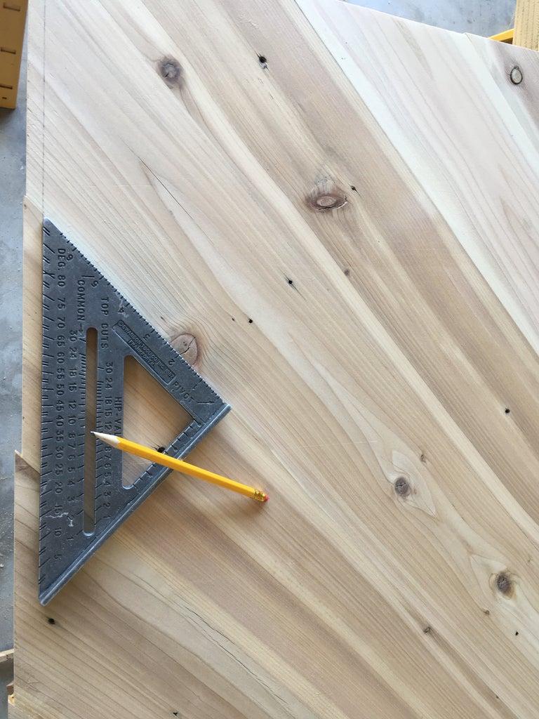 Cut Out Panels & Sand