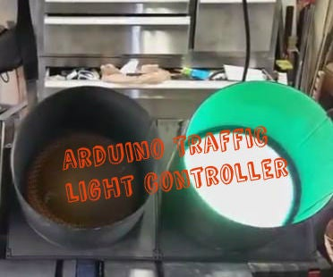 Arduino Traffic Light Controller