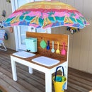 Outdoor Sand and Water Play Table