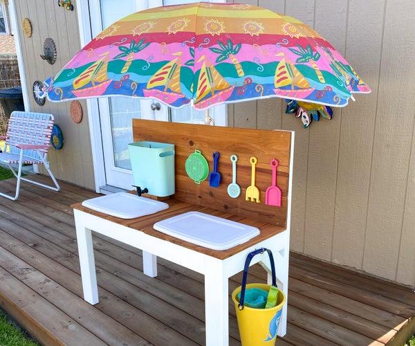 户外沙和水游戏表