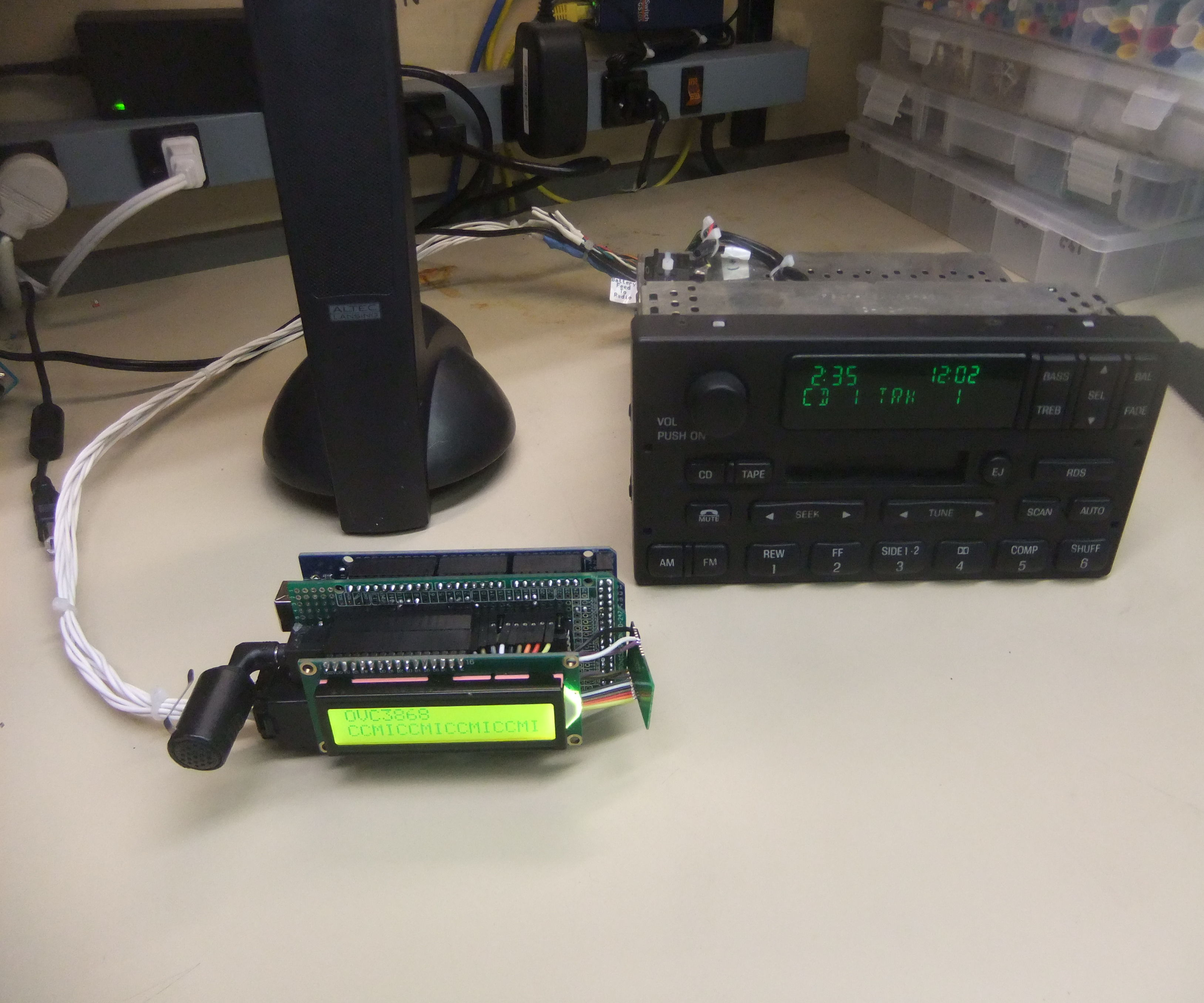 Ford Bluetooth Interface (Control phone with stock radio)