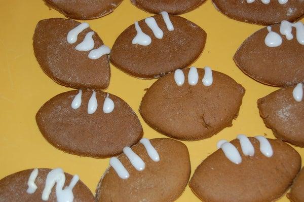 How to Make Football Cookies