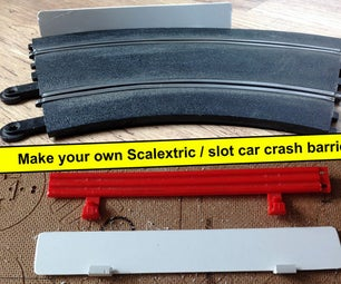 Scalextric / Slot Car Replacement Crash Barriers