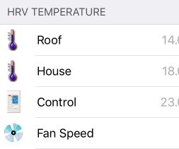 HRV Temperature to OpenHAB Via ESP8266 (Serial Code Example!)