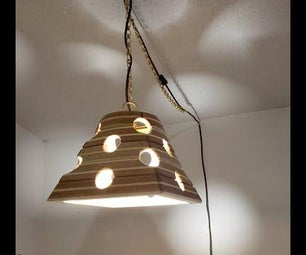Cnc Carved 3d Lampshade