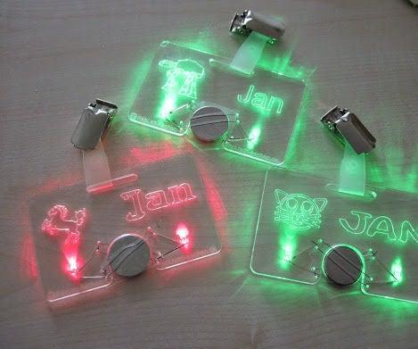 LED Nametag