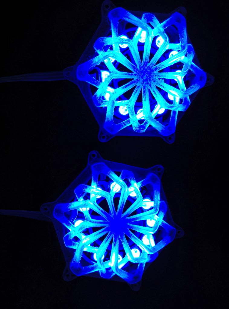 MY CUSTOMISED LED-RING PARTICLES :D